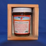 10 oz. Wooden Box Gift Pak - Whole Apple Butter (No Sugar Added) SHP10GP NSA.1