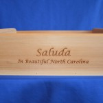 Handcrafted Solid Wood Executive Tray w/Saluda NC